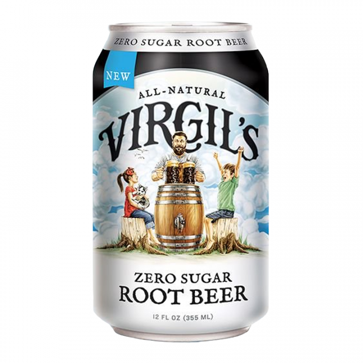 Virgils Root Beer - ZERO CALORIES 355ML