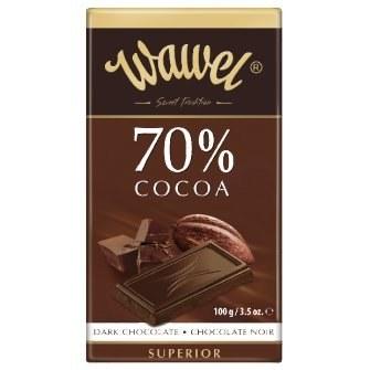 WAWEL - DARK CHOCOLATE 70% COCOA