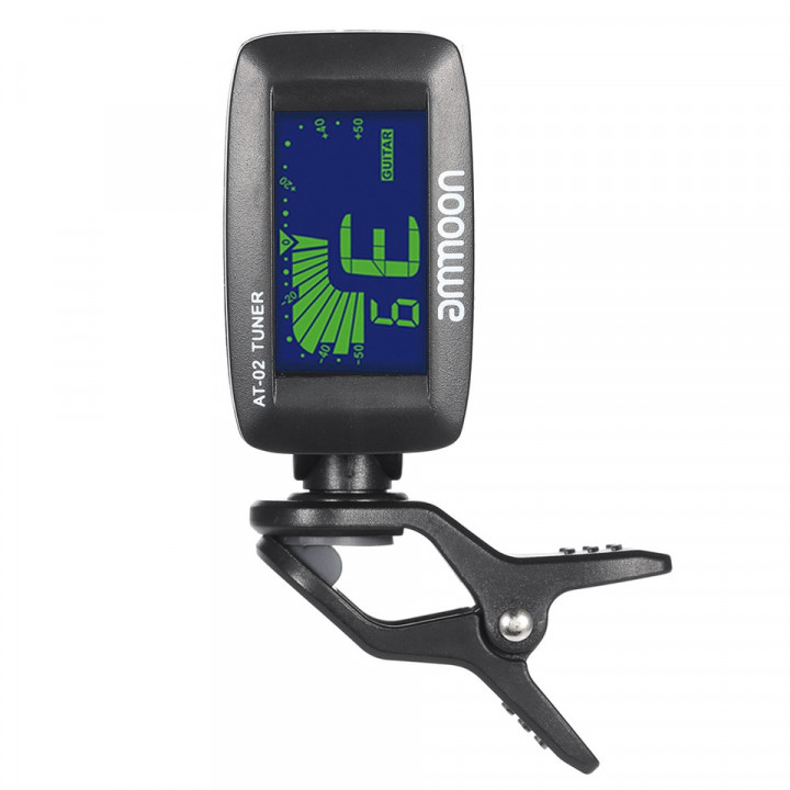 AMMON AT-02 ELECTRIC TUNER CLIP ON