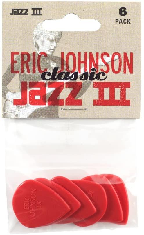 DUNLOP ERIC JOHNSON CLASSIC JAZZ III 6 PACK