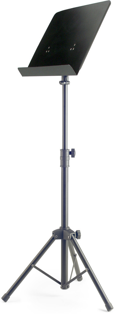 STAGG BASIC ORCHESTRAL MUSIC STAND WITH METAL MUSIC REST