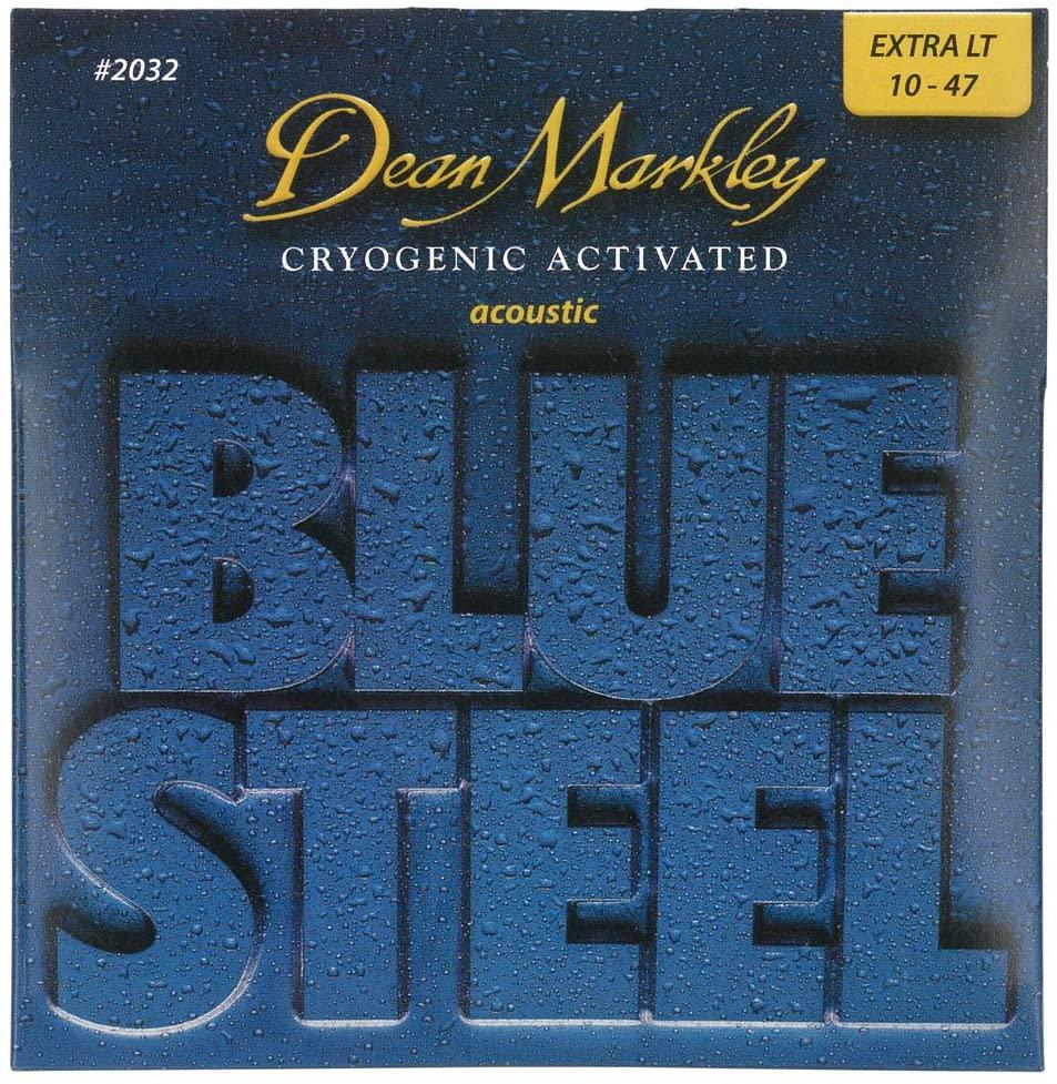 DEAN MARKLEY BLUE STEEL ACOUSTIC STRINGS SET 10-47 EXTRA LIGHT