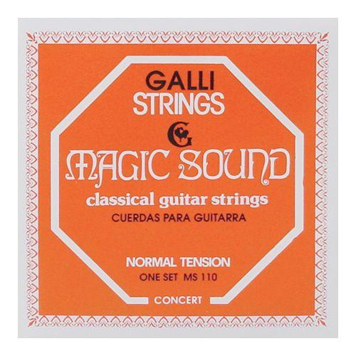 GALLI MAGIC SOUND NORMAL TENSION CLASSICAL GUITAR STRINGS NORMAL TENSION