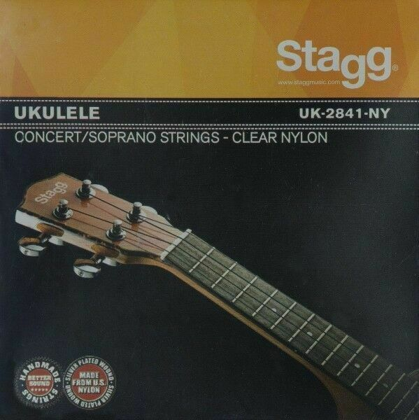 STAGG CLEAR NYLON SET OF STRINGS FOR SOPRANO UKELELE