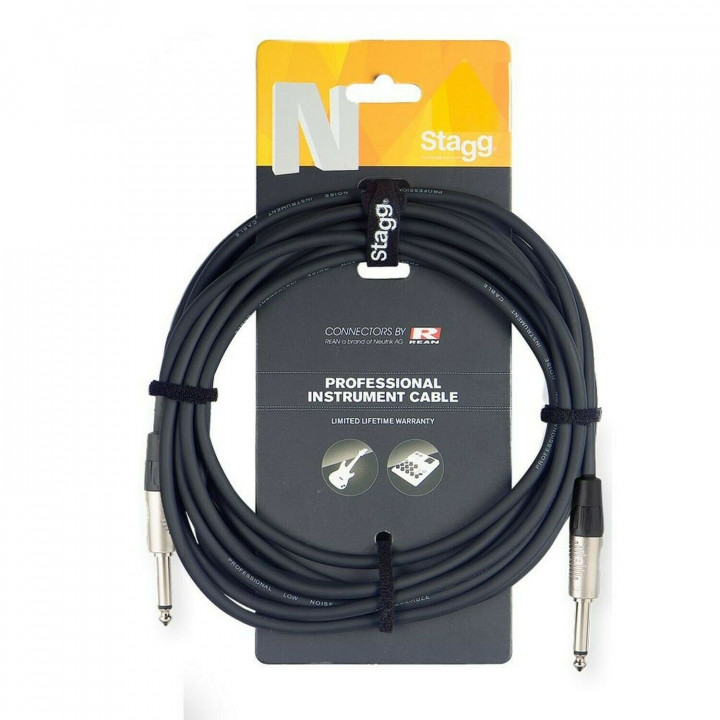STAGG 6M/20FT INSTRUMENT CABLE DELUXE