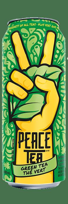 PEACE TEA - GREEN TEA THE VERT 695ML