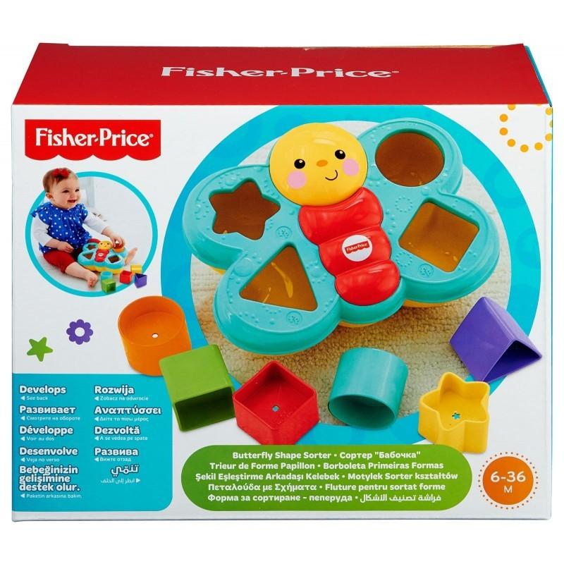 Fisher-Price Πεταλούδα Με Σχήματα CDC22