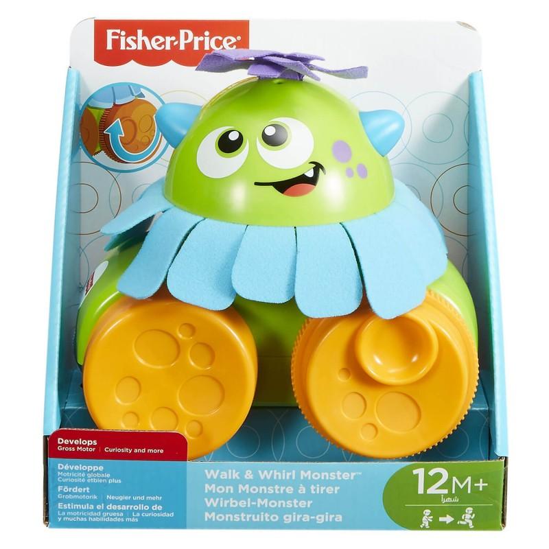 Fisher-Price Fisher Price Walk And Whirl Monster MTFHG01