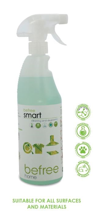Befree smart -SS- Cleaning and degreasing 750 ml
