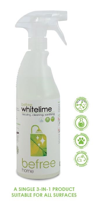 Befree whitelime -SS- Healthy Lifestyle - Descaling, cleaning, sanitising 750 ml
