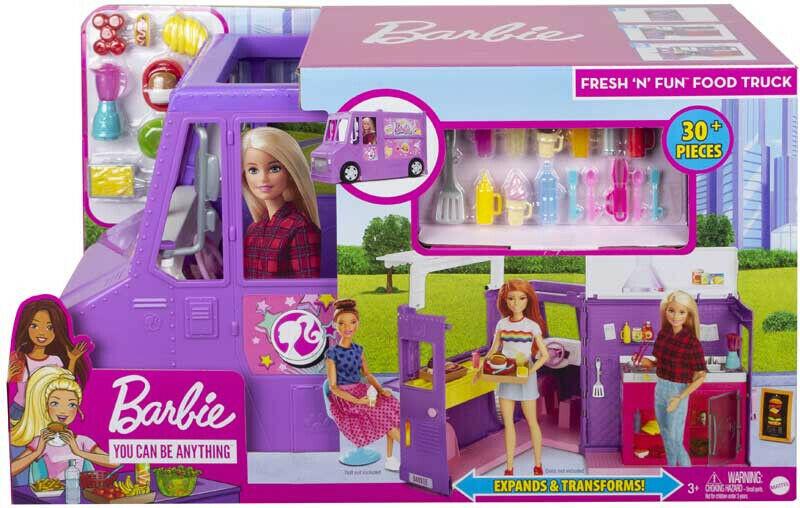 Mattel Barbie Fresh N Fun Food Truck MTGMW07