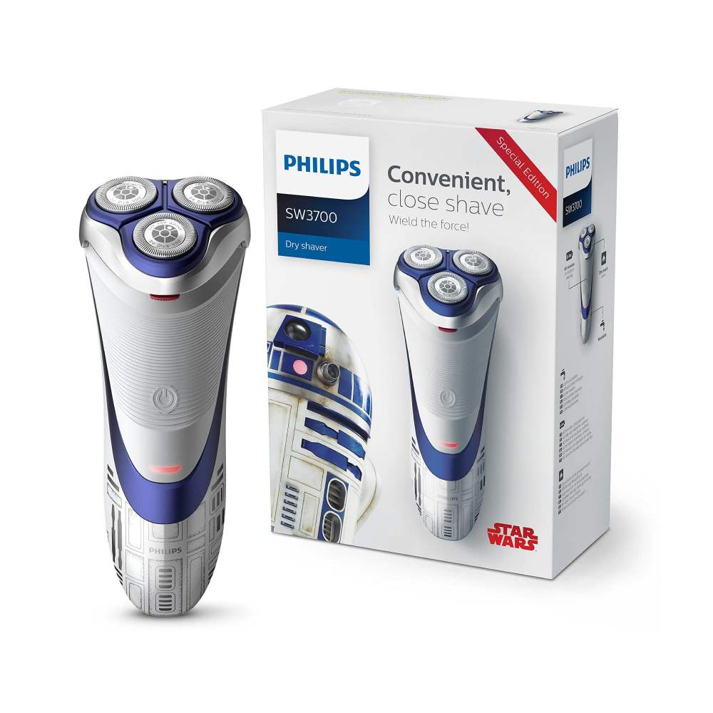 Philips SW3700/07 Star Wars Special Edition R2-D2 Cordless Dry Men's Electric Shaver