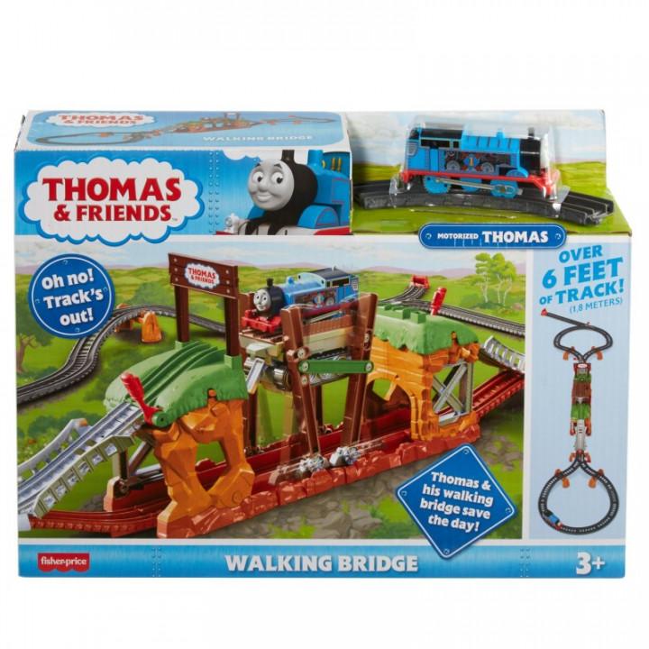 THOMAS & FRIENDS WALKING BRIDGE MOTORIZED TRAIN