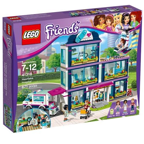 LEGO FRIENDS HEARTLAKE HOSPITAL 41318