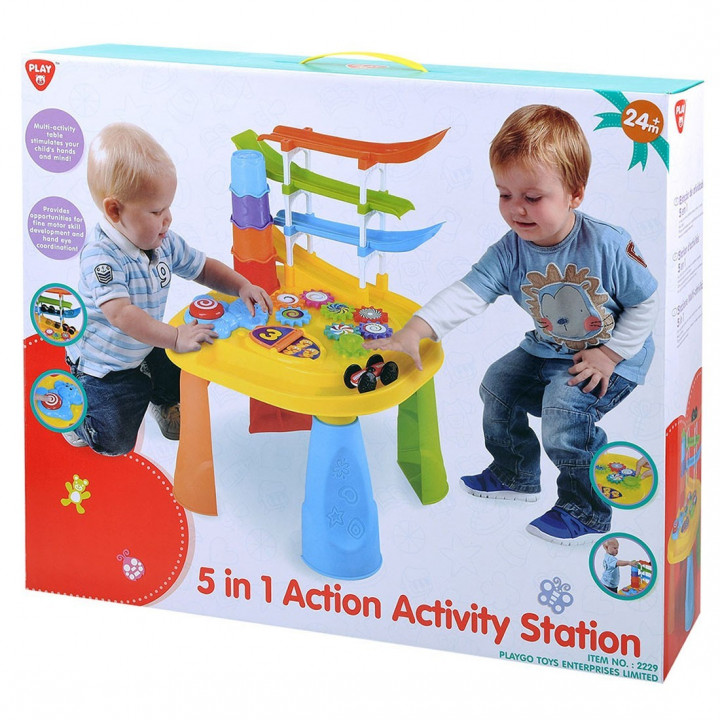 PLAYGO 5 IN 1 ACTION ACTIVITY