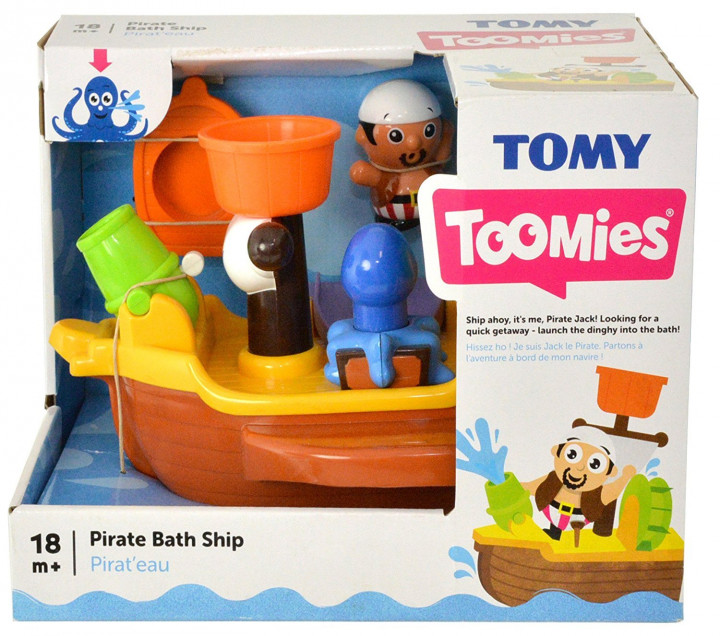 TOMY TOMMIES PIRATE BATH SHIP