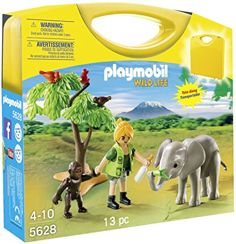 PLAYMOBIL 5628 - AFRICAN WILDLIFE CARRY CASE