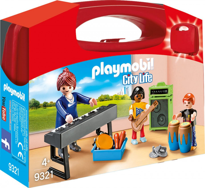 PLAYMOBIL 9321 - MUSIC CLASS CARRY CASE