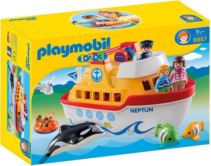 PLAYMOBIL 6957 - FLOATING TAKE ALONG SHIP