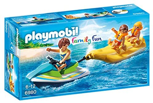 PLAYMOBIL 6980 - FLOATING PERSONAL WATERCRAFT WITH BANANA BOAT