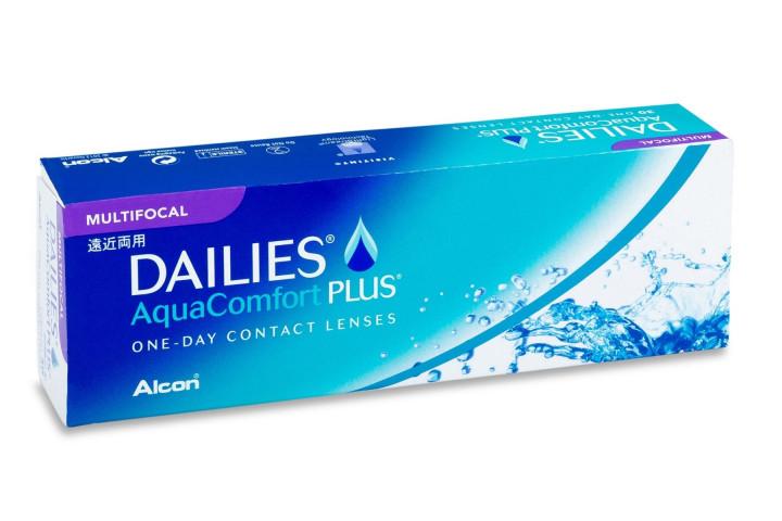 Dailies Aqua Comfort Plus Multifocal - 30 Daily Contact Lenses -2.75