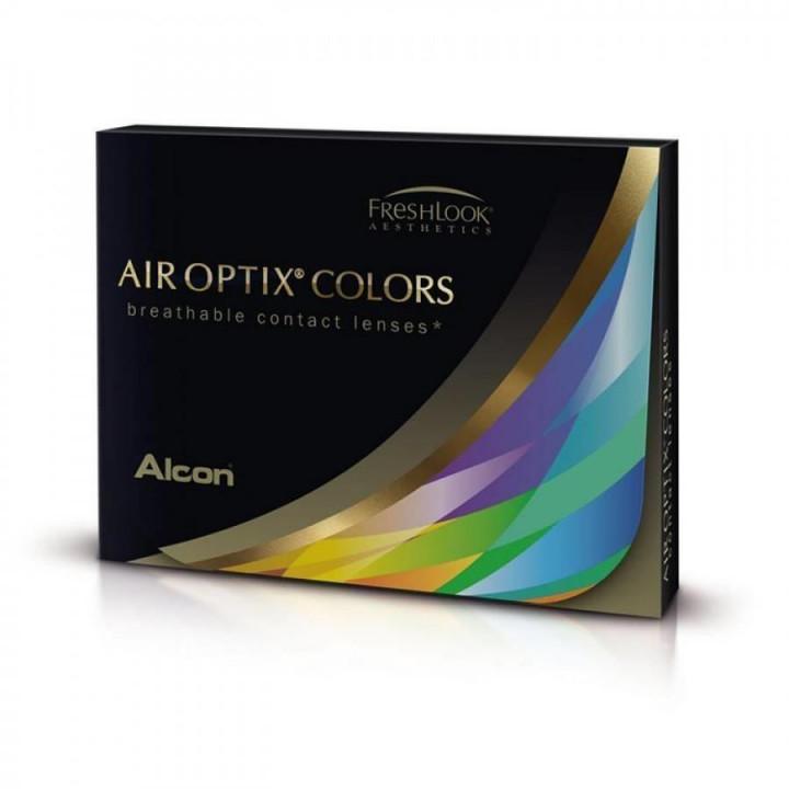 Air Optix Colour Sapphire Blue - 2 Monthly Contact Lenses +5