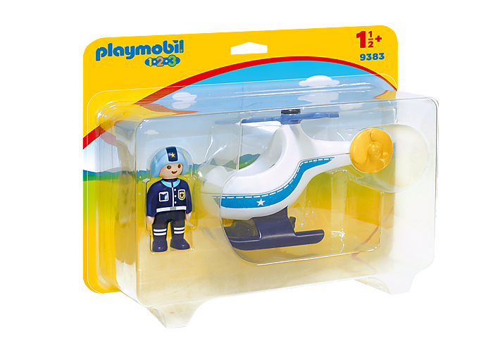 PLAYMOBIL 9383 - POLICE COPTER