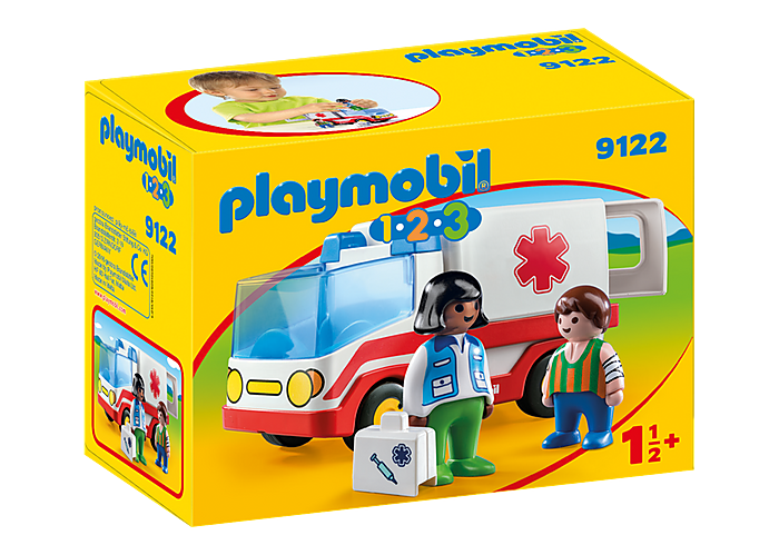 PLAYMOBIL 9122 - RESCUE AMBULANCE