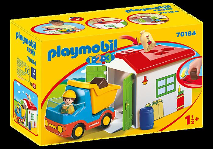 PLAYMOBIL 70184 - DUMP TRUCK