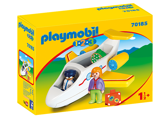 PLAYMOBIL 70185 - PLANE WITH PASSENGER
