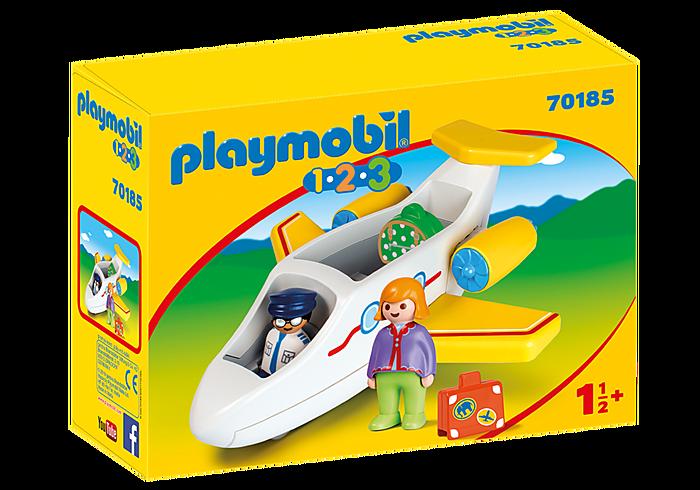 PLAYMOBIL 70185 - PLANE WITH PASSENGER