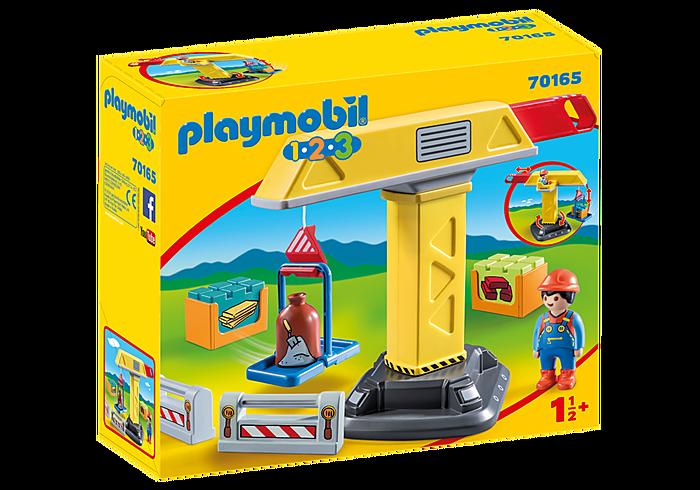 PLAYMOBIL 70165 - CONSTRUCTION CRANE
