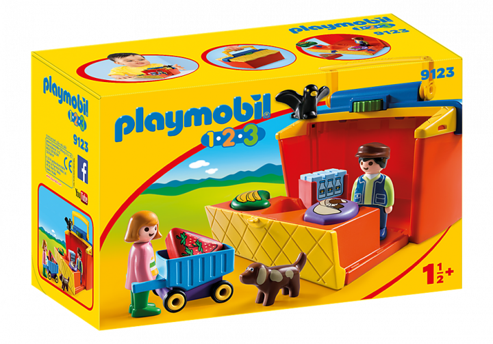 PLAYMOBIL 9123 - TAKE ALONG MARKET STALL