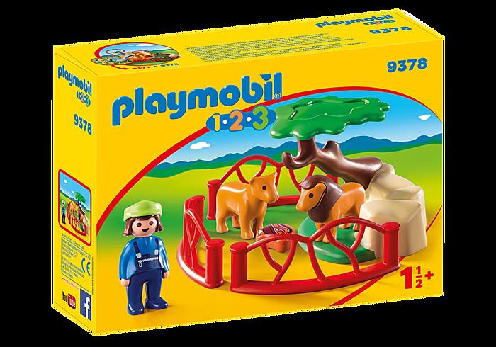 PLAYMOBIL 9378 - LION ENCLOSURE