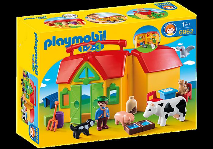 PLAYMOBIL 6962 - MY TAKE ALONG FARM