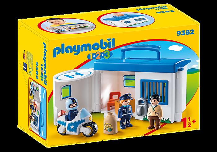 PLAYMOBIL 9382 - TAKE ALONG POLICE STATION
