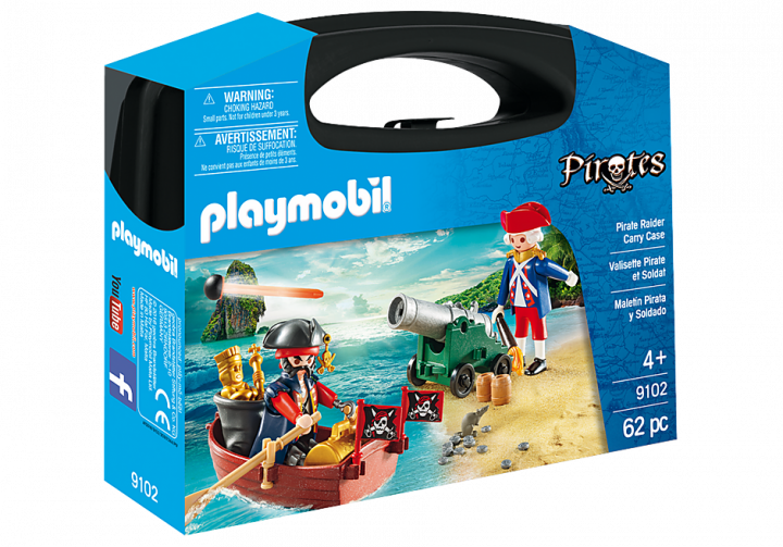 PLAYMOBIL 9102 - PIRATE RAIDER CARRY CASE