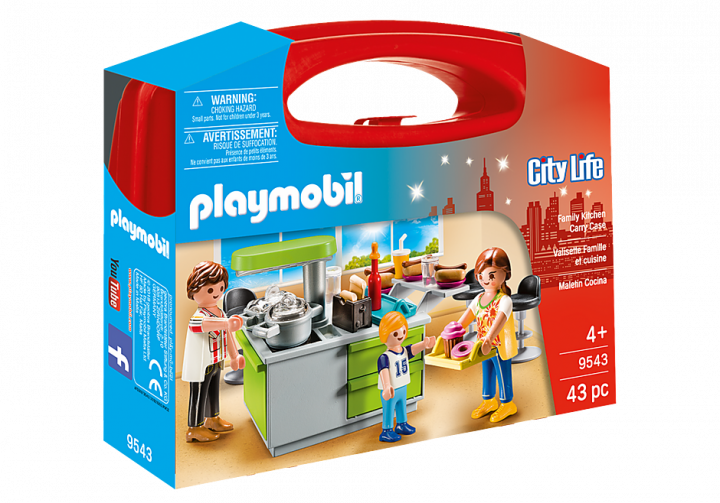 PLAYMOBIL 9543 - KITCHEN CARRY CASE