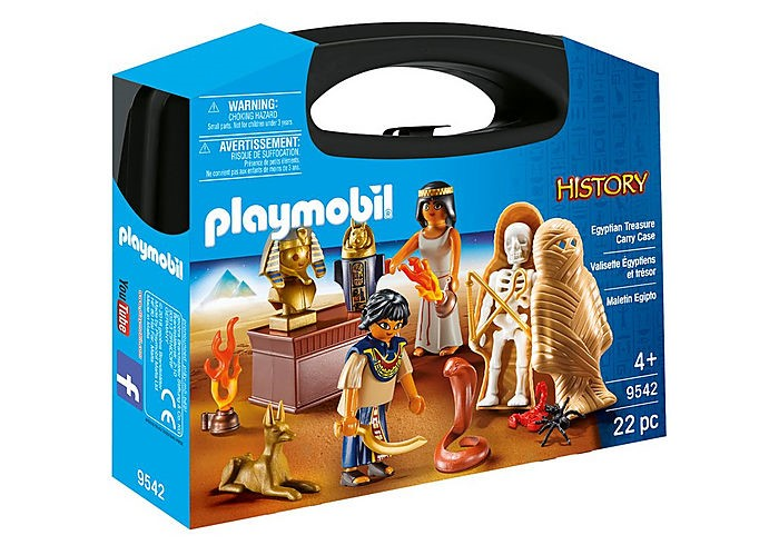 PLAYMOBIL 9542 - EGYPTIAN TREASURE CARRY CASE