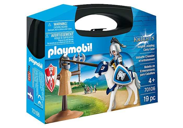PLAYMOBIL 70106 - KNIGHTS JOUSTING CARRY CASE