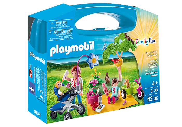 PLAYMOBIL 9103 - FAMILY PICNIC CARRY CASE