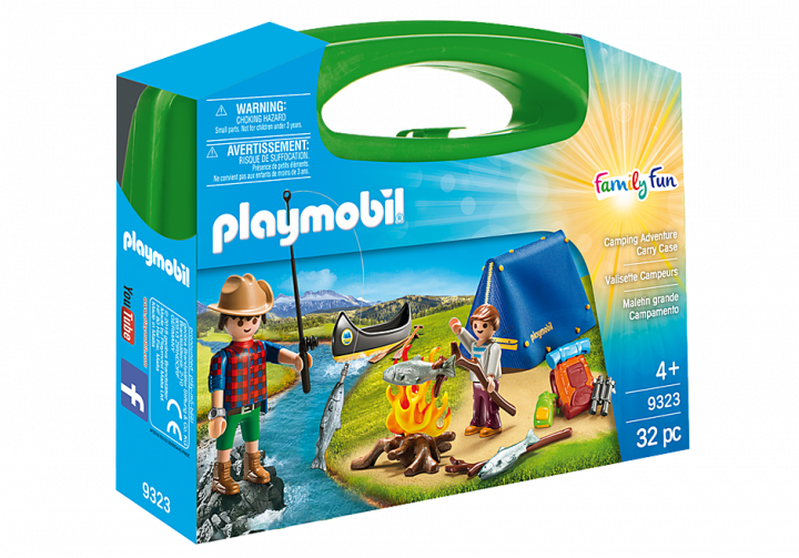 PLAYMOBIL 9323 - CAMPING ADVENTURE CARRY CASE