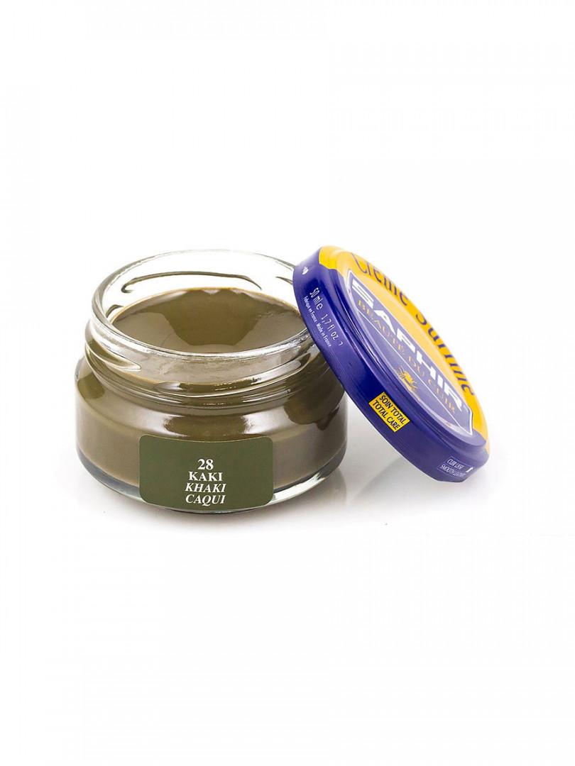 Saphir crème surfine - 28 Kaki 50ml jar