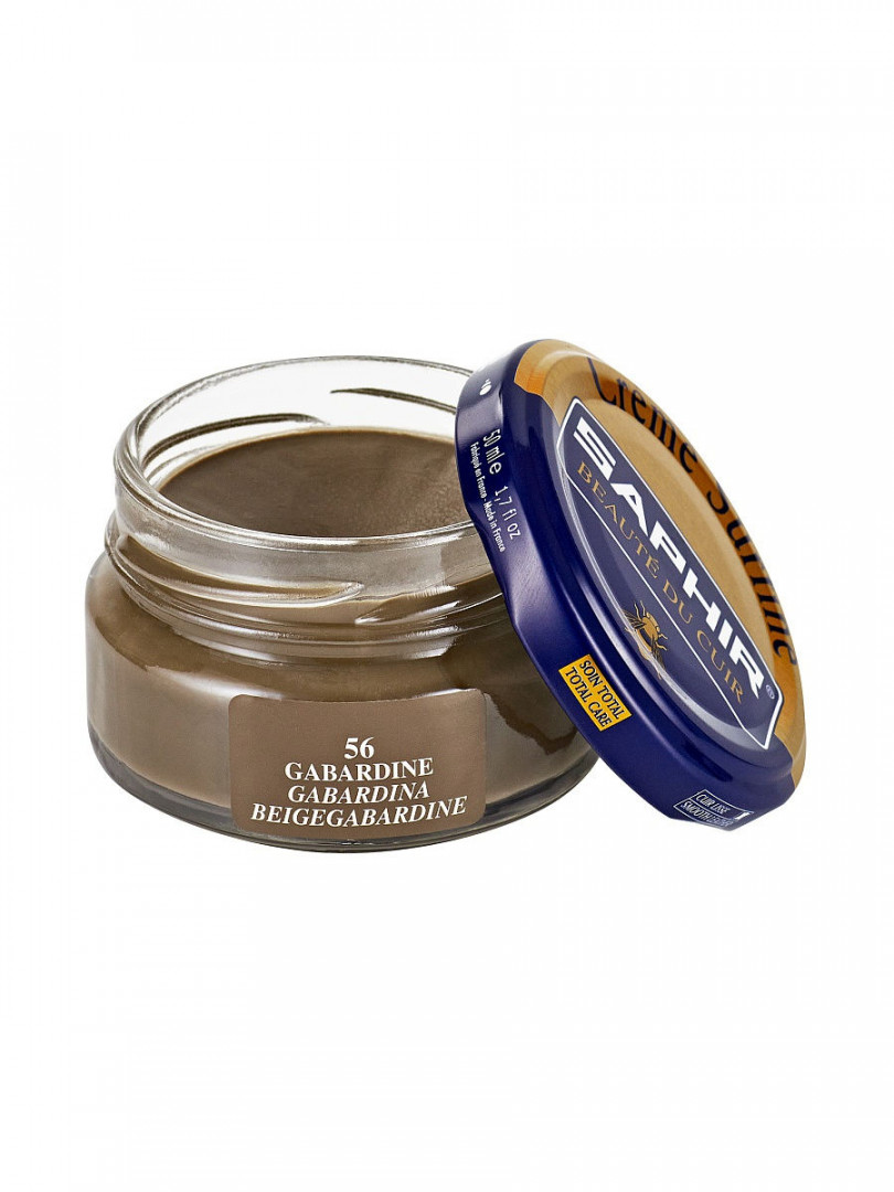 Saphir crème surfine - 56 Gabardine 50ml jar