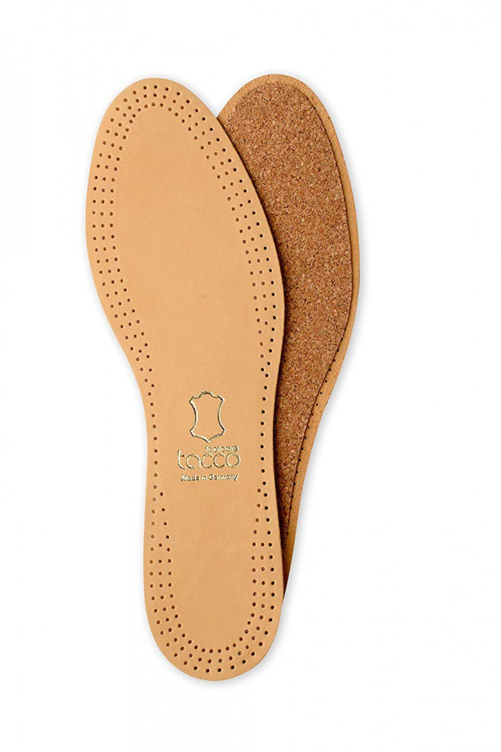 Leather insoles (Size 45-46 / 1 pair) - Natural