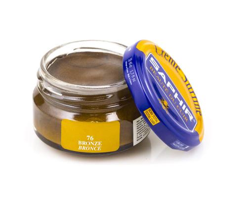 Saphir crème surfine - 76 Bronze 50ml jar