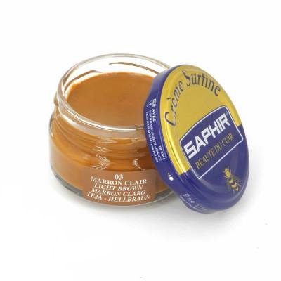 Saphir crème surfine - 03 Marron Clair 50ml jar