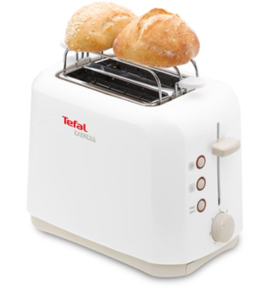 TEFAL EXPRESS 2 SLOTS ELECTRIC TOASTER -WHITE