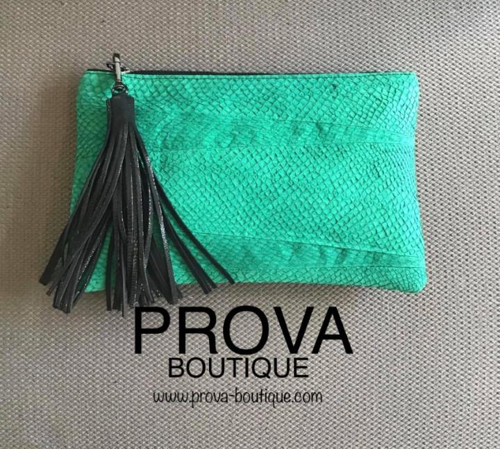 FOXY Handbag Salmon Green