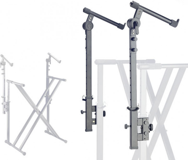 Stagg 2 Steel extension brackets for KXS-A12 keyboard stand